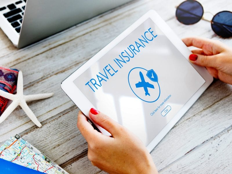 Obtain a travel insurance